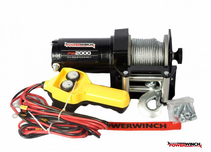Лебедка PowerWinch PW2000 (2000lb) 906 kg