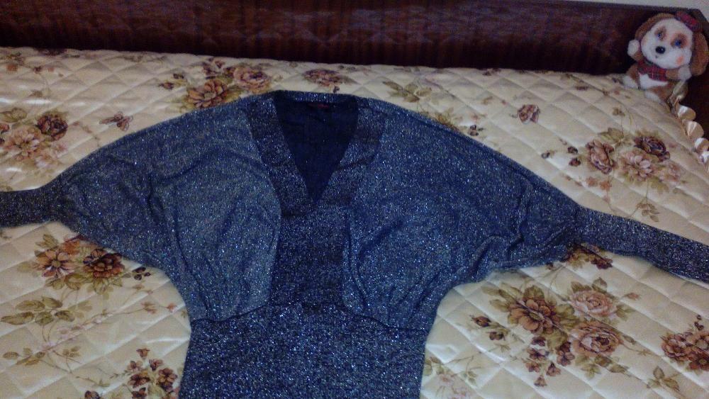 Дамска блуза лъскава - 10 лв