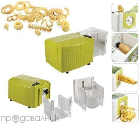 Well Maxi машина за спирални картофи , машина за спагети