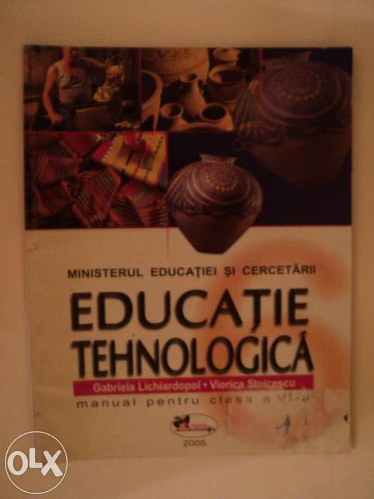 Manual Educatie Tehnologica cls a VI-a
