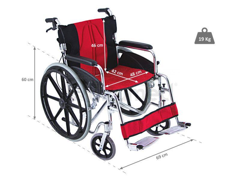 Temos orteses, proteses, cadeiras de roda e triciclo para dificientes