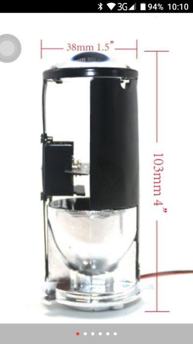 MINI lupa H4 Bi-xenon nu se decapseaza farul