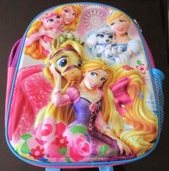 Ghiozdan 3D Disney Princess, nou