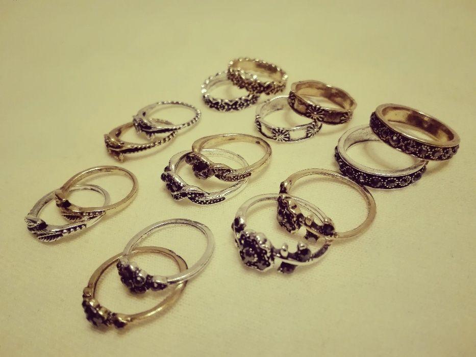 Inele vintage gold/silver diverse modele