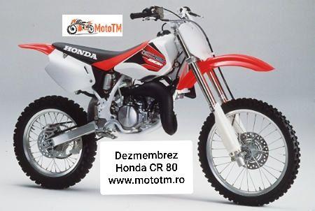 Dezmembrez Honda CR 80cm3