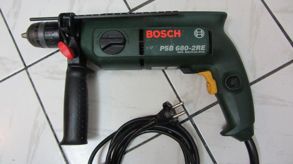 BOSCH PSB 680-2 RE - двускоростна Ударна бормашина