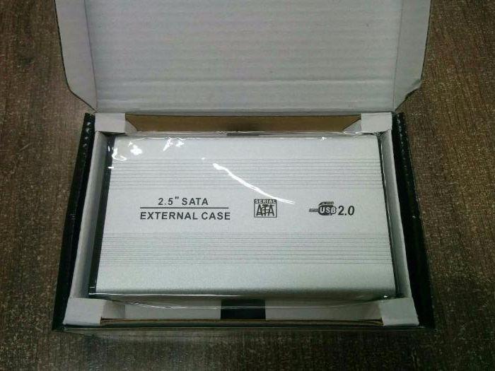 """Кутия за 2.5"""" хард диск SATA USB 2.0 гр. Варна - image 4"""