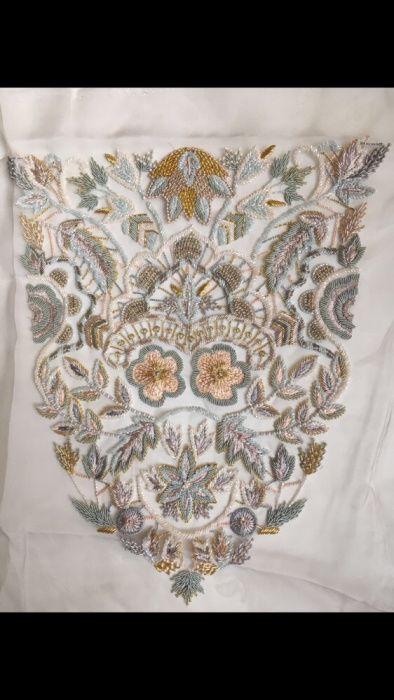 Broderie Haute Couture,lucrata manual,rochie de seara(ocazie) Zardozi
