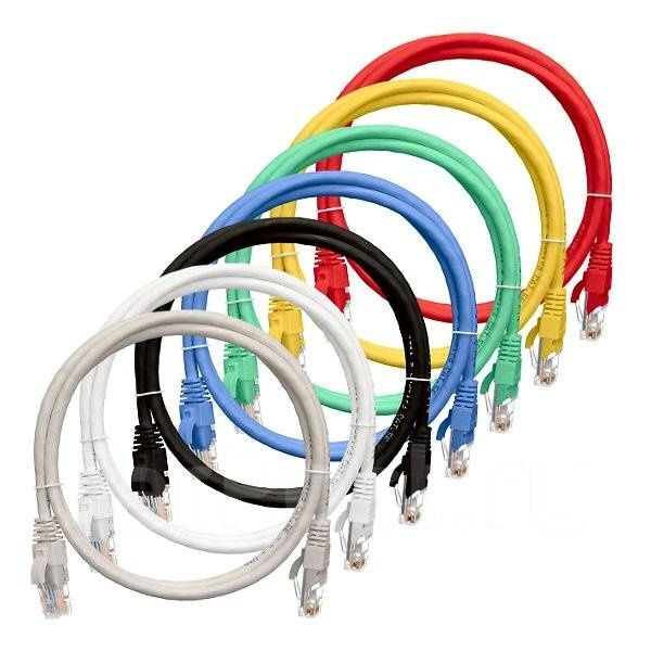 Продам патч-корды 0,5, 1, 2, 3, 5 , 10 метр кат 5e, кат 6 FTP UTP