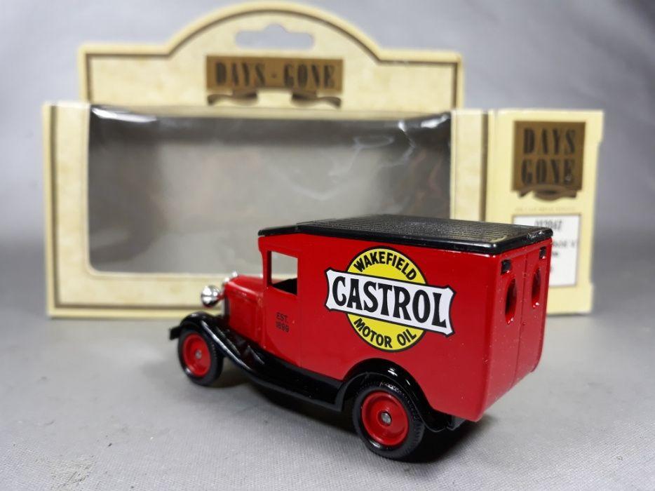 Ford van Castrol de metal macheta de colecție made in England original