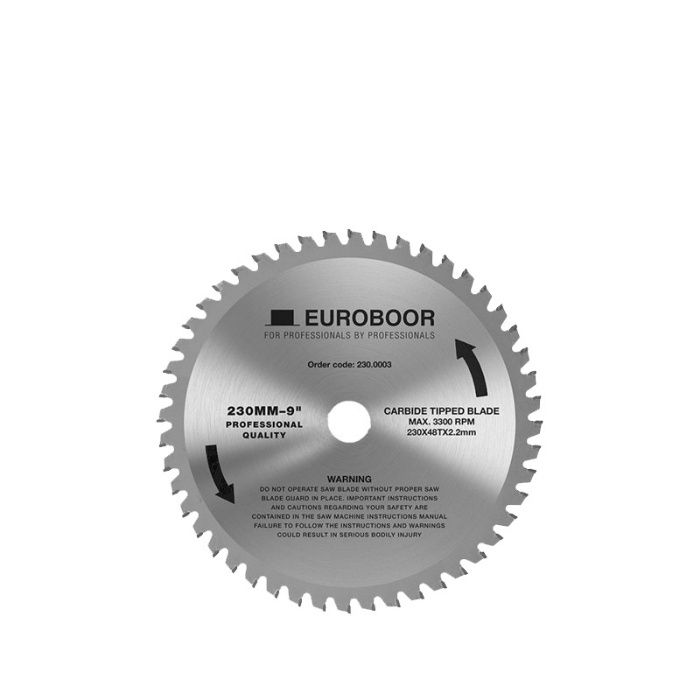 Циркулярен диск 230 mm (25.4) 48T (x2.2) за стомана и алуминий