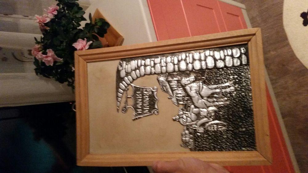 Tablou vechi Hanul lui Manuc colecție cadou
