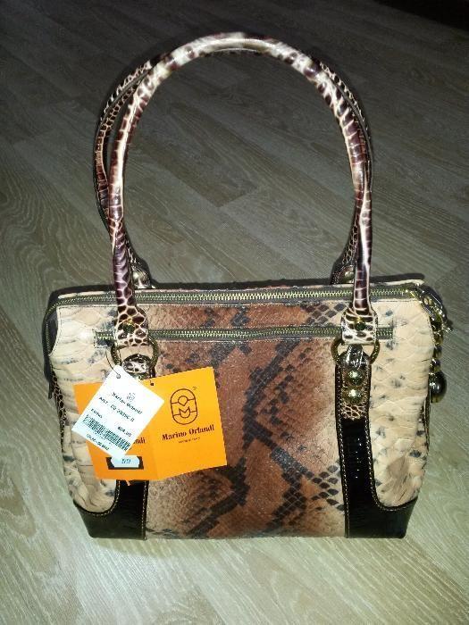 Женская классическая сумка Marino Orlandi ОРИГИНАЛ ИТАЛИЯ