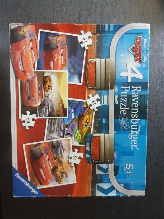 Vand 4×puzzle Cars Ravensburger