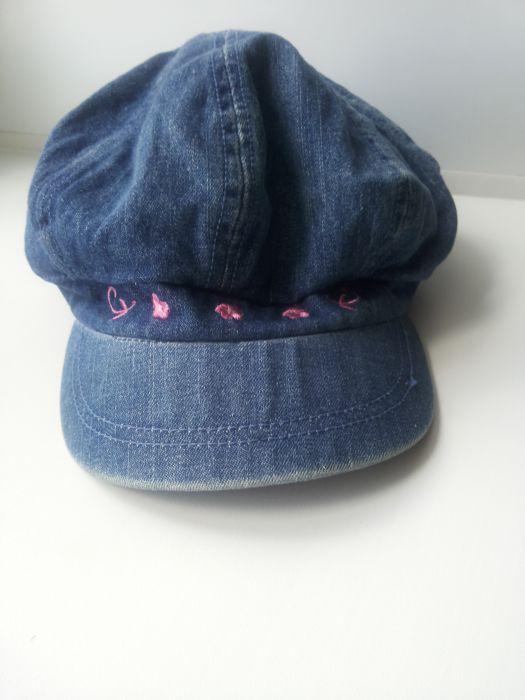 Детская джинсовая кепка