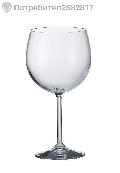 Чаши за вино от кристално стъкло