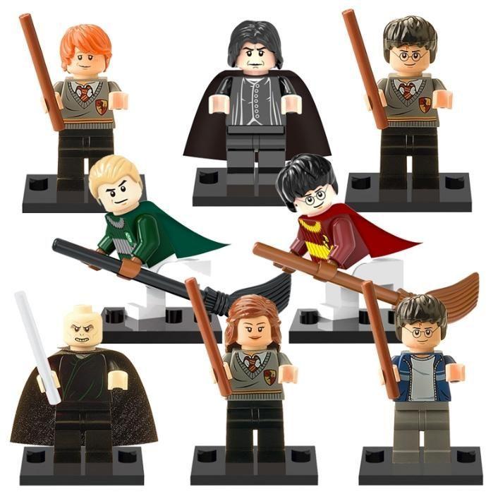 Set 8 Minifigurine tip Lego Harry Potter cu Professor Snape si Draco