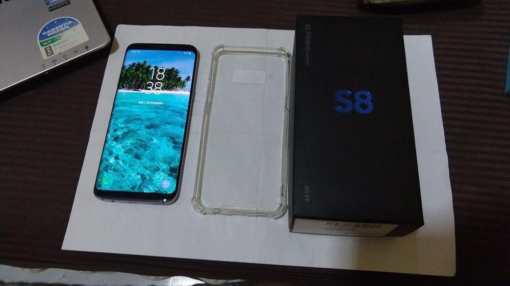 Samsung Galaxy s8 Dous 64GB novo selado