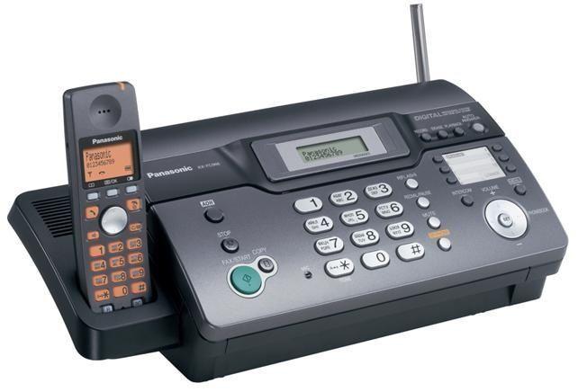 радио телефон DECK Телефон Факс Копир Panasonic KX-FC966