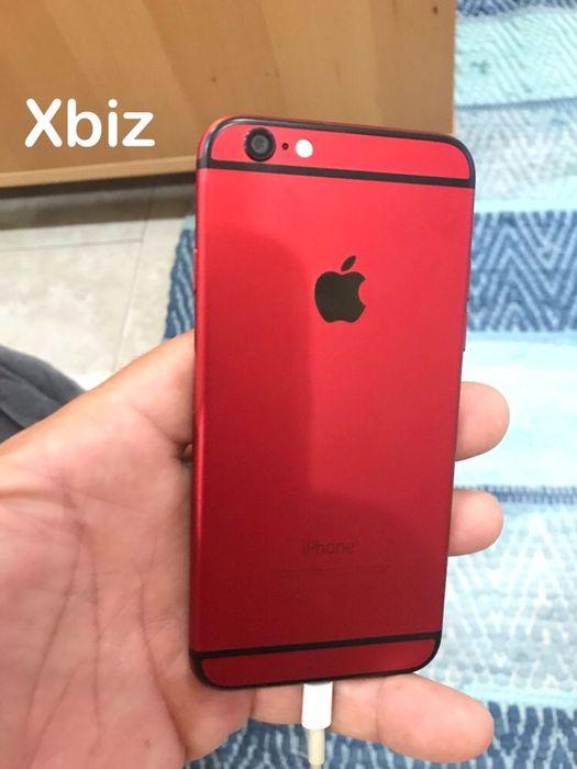 Xbiz iPhone 6 128gb Red Black Edition novo aceito troca