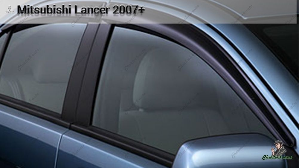 Ветровики оригинал MITSUBISHI LANCER X с 2007 г.