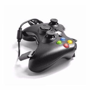 Joystick q cabo para Xbox 360 compativel a windows na caixa