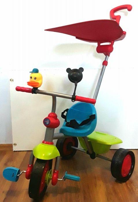 TRICICLETA PREMIUM pentru copii cu centură siguranta - NOUĂ