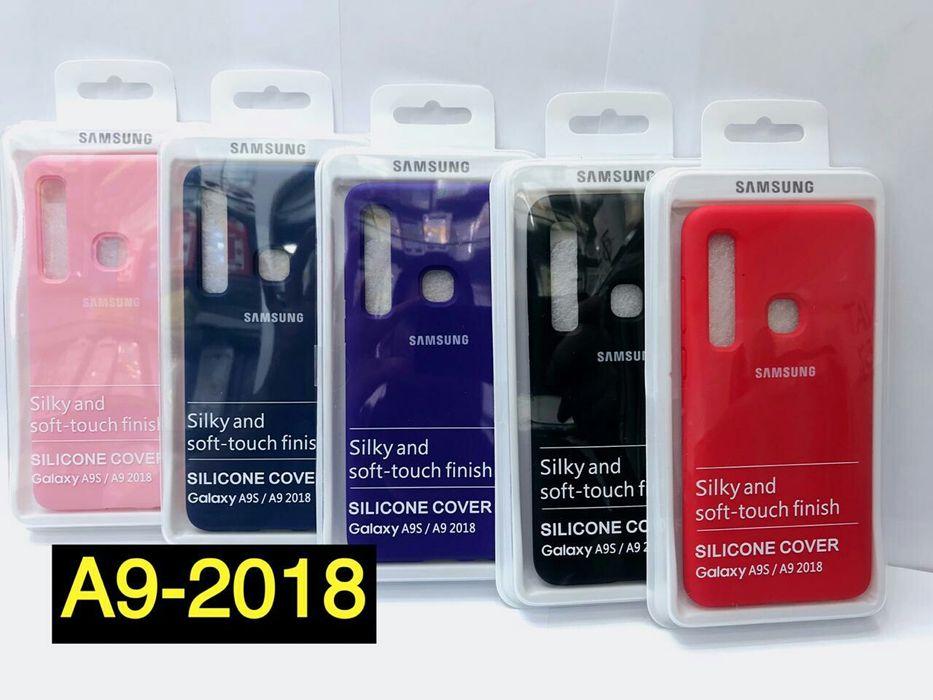 Capas silicone Samsung A9_2018. Disponível