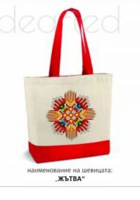 Чанта с фолклорни мотиви