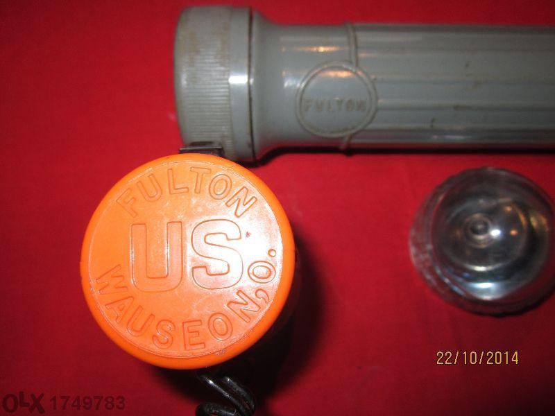 прожектор с антикварна стойност Fulton Mx993/u Military flashlight +ин