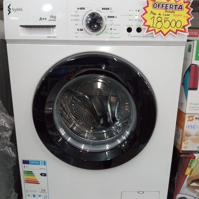 Máquina de lavar roupa Synix