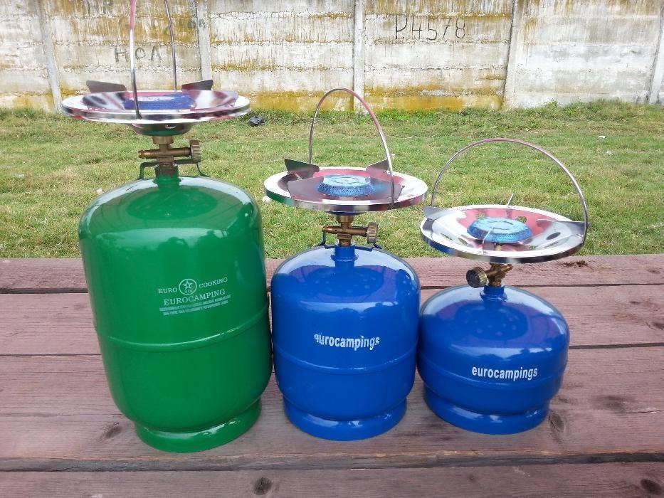 Butelie camping / voiaj 8 litri cu ochi aragaz