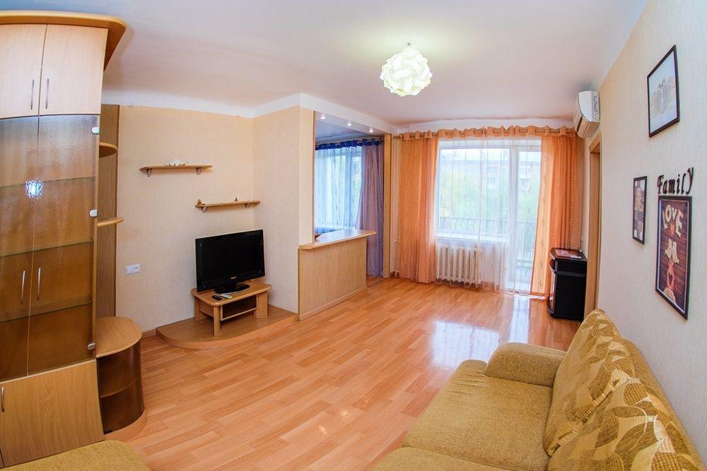 2 Комнатная квартира класса Люкс в центре города. Кинотеатр Казахстан