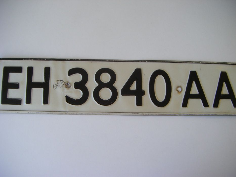 Стара регистрационна тебела