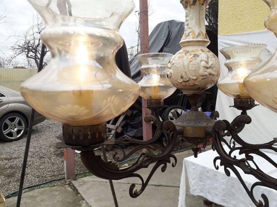 candelabru din portelan