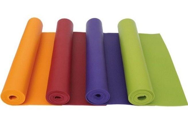 Коврик для йоги 6мм (йога мат,каремат) и фитнеса с бесплатной доставко