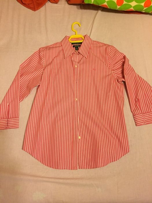 Vand camasi dama marca Ralph Lauren si Tommy Hilfiger marimea M