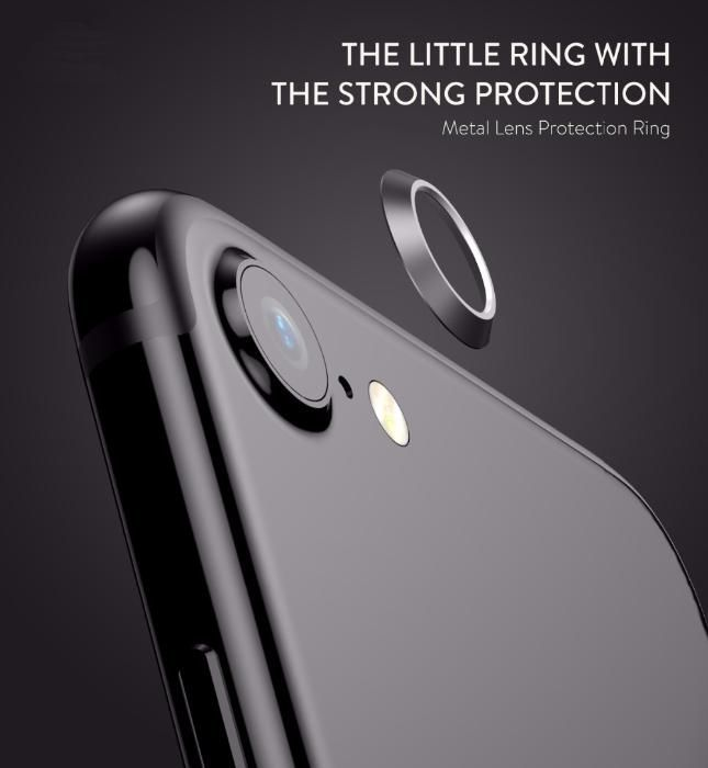 Алуминиев Ring ринг протектор за камера на Iphone 7/ 8, X