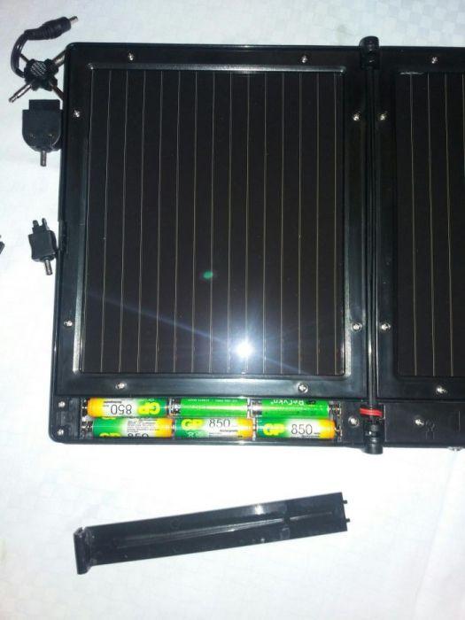 Incarcator/panou solar