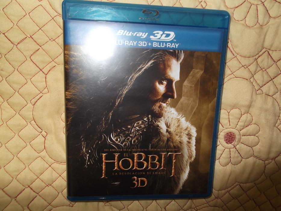 DVD 3 D si blu-ray HOBBIT
