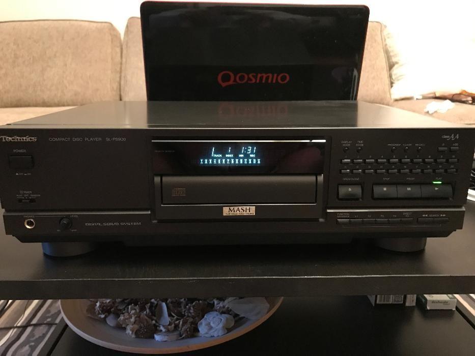 Technics SL-PS900 CD-player cap serie, 2 transformatoare, Class AA