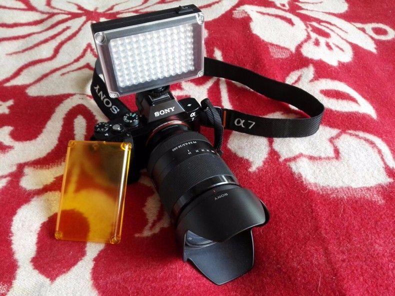 LAMPA FOTO VIDEO 96 LED cu Reglaj Intensitate
