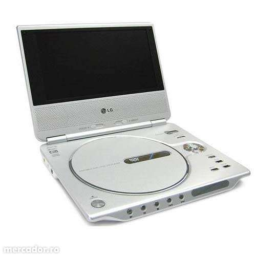 Vand DVD Portabil cu Monitor si Acumulator LG DP9821 (SH)