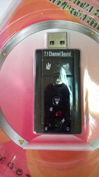 Звукова карта на USB