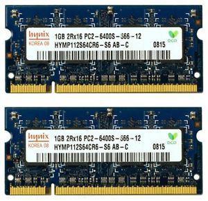 Memorii RAM Testate! 2GB DDR2 PC2-6400S 800MHz Kit (2x1Gb)