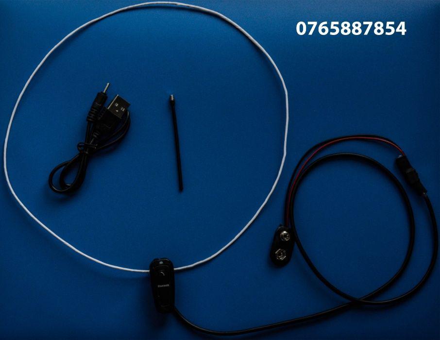 Handsfree BLUETOOTH pentru copiat cu microvibratii( magnet ) pe timpan