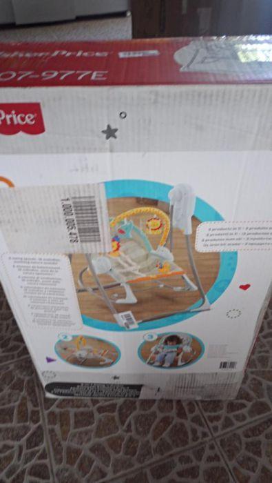cadeira fisher price 3 em 1 nova