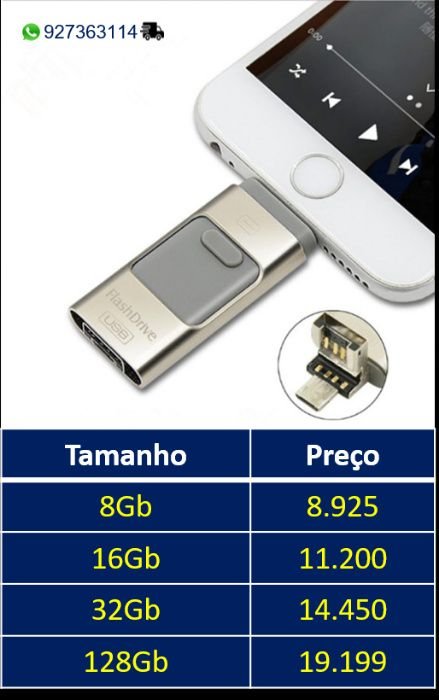 Pen drive iphone/android/pc