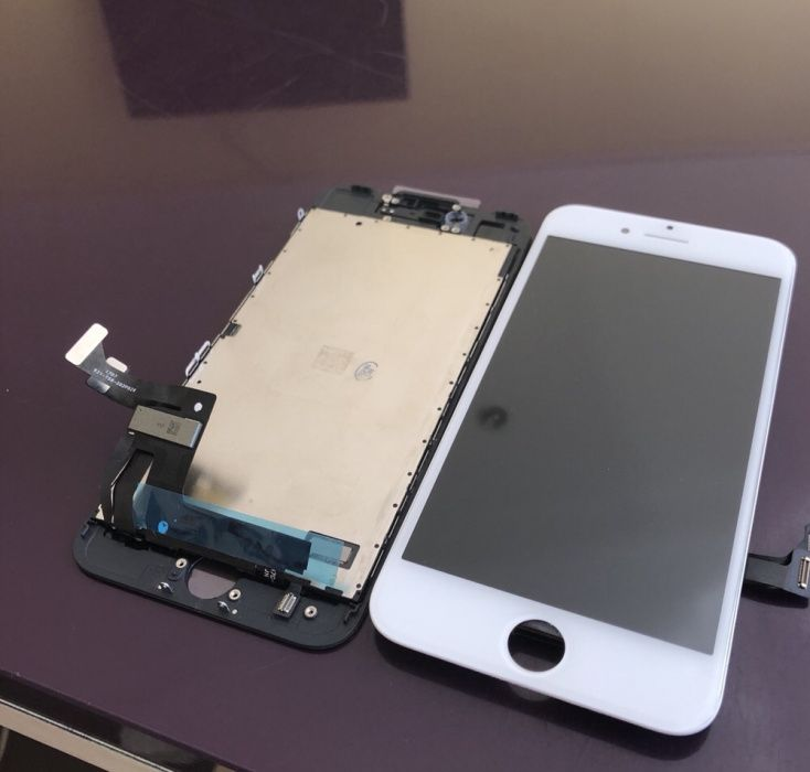 OFERTA Display NOU Complet iPhone 7 Montaj GSM pe LOC - X 8 7 6 5 xsr