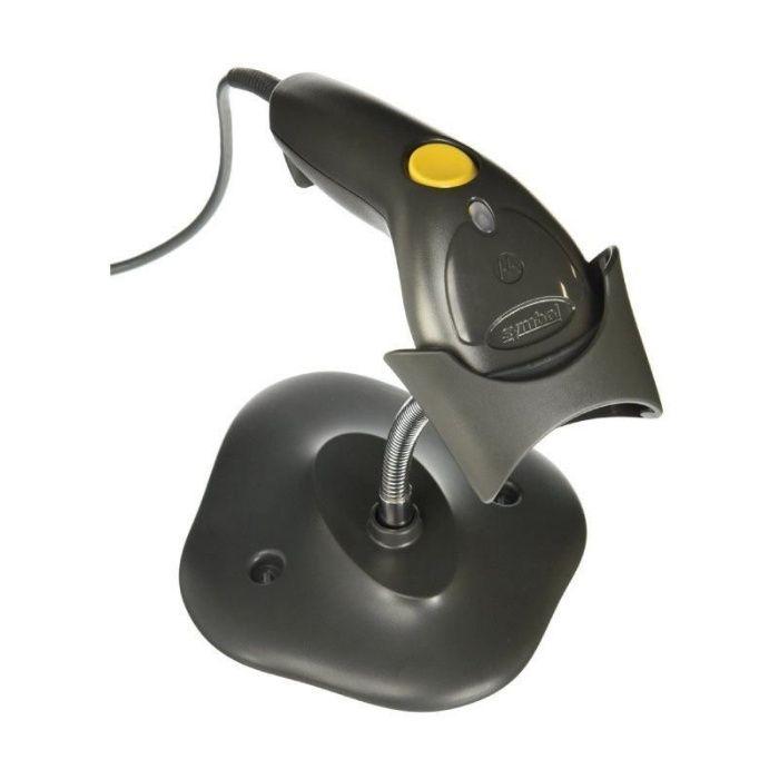 Scanner (Cititor) coduri de bare laser Motorola (Zebra) USB, suport Craiova - imagine 1
